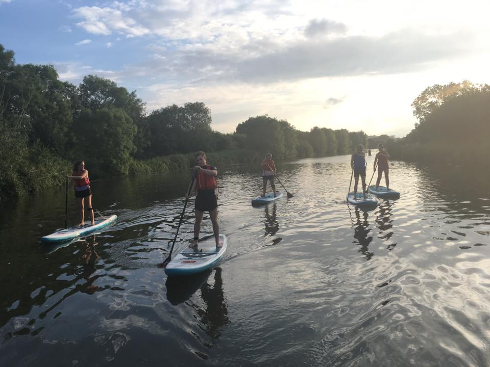Intro to Paddleboarding