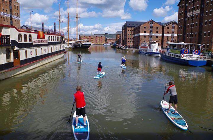 Gloucester Docks Sunday SUP